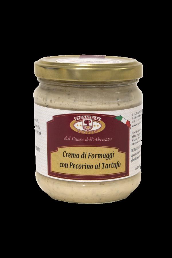 Crema di formaggi con pecorino al tartufo
